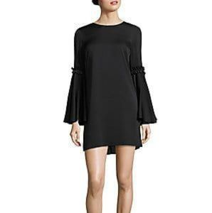 Milly  of New York black shift dress size 12 NWT